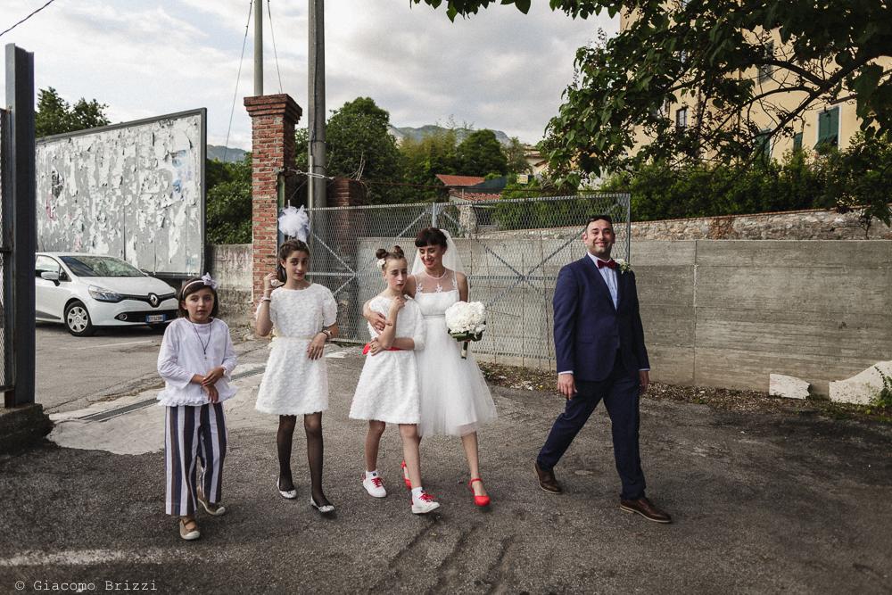 Foto di gruppo, matrimonio Massa Carrara Toscana