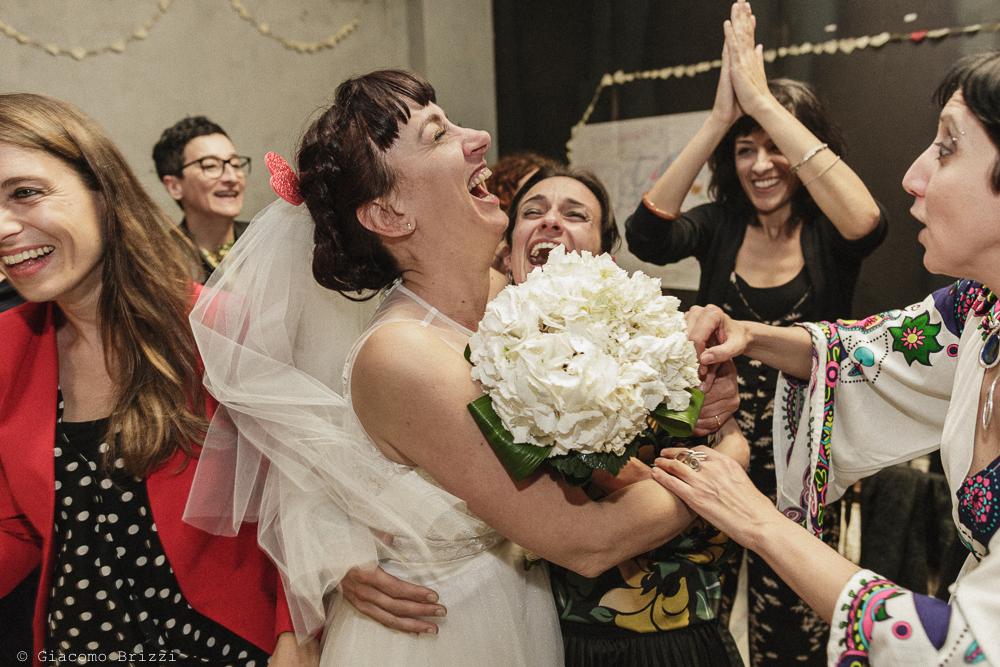Un inquadratura sulla sposa, matrimonio Massa Carrara Toscana